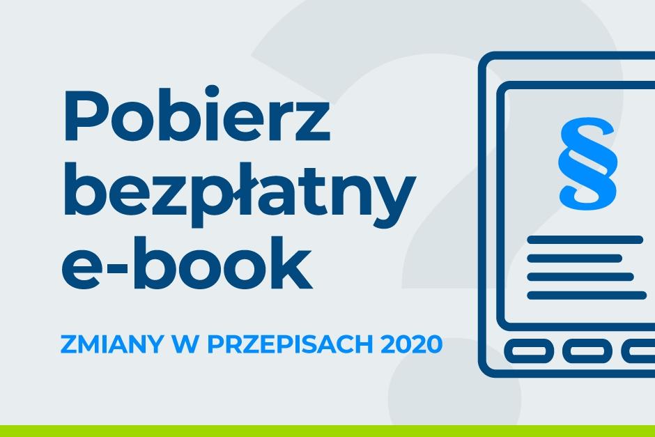 Zmiany w przepisach na 2020 e-book