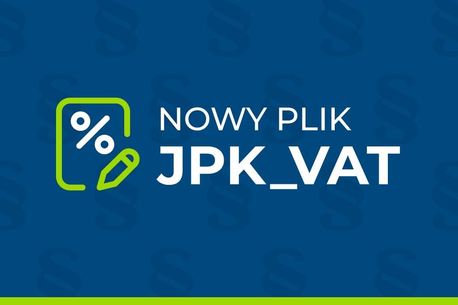 Nowy plik kontrolny - JPK_VAT7 od 1 października