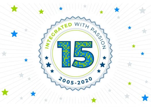 15 lat istnienia firmy