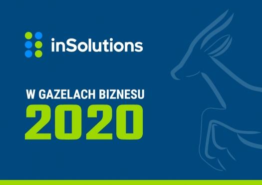 inSolutions wśród Gazel Biznesu 2020
